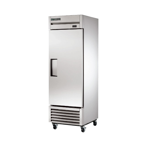 "True T-23F-HC 27"" Reach-In Solid Swing Door Freezer"