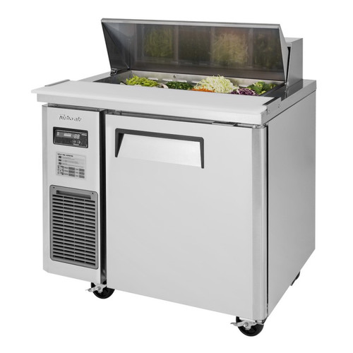 Turbo Air JST-36-N J Series Sandwich/Salad Prep Table, Side Mount, 1 Solid Door