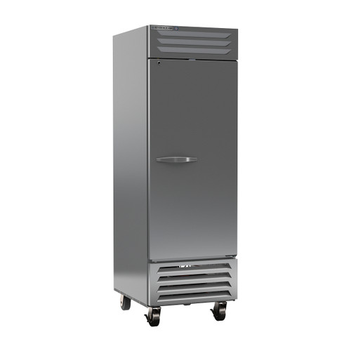 "Beverage Air FB23HC-1S 27"" Single Solid Door Reach-In Freezer"