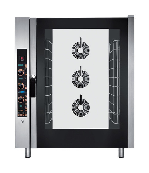 EKA EKFA 1064 E UD Electric Full Size Combi Oven with Steam - 10 Trays - 208/240V 3 Phase