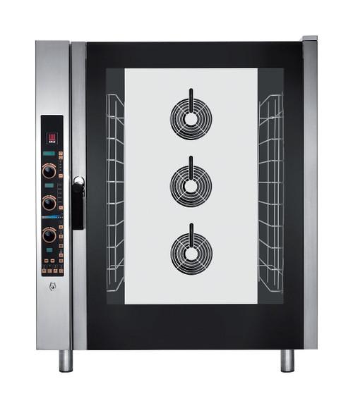 EKA EKFA 1064 E UD Electric Full Size Combi Oven with Steam - 10 Trays - 208/240V 3 Phase
