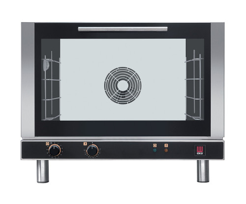 EKA EKFA 464 Electric Full Size Convection Oven, Manual Control - 4 Trays - 208/240V
