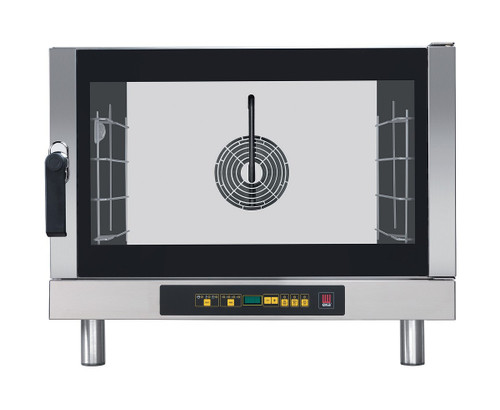 EKA EKFA 464 D AL UD Electric Full Size Convection Oven with Digital Control, Left Door - 4 Trays - 208/240V