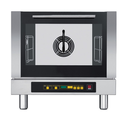 EKA EKFA 312 D UD Electric Half Size Countertop Convection Oven with Humidifaction - Digital Controls - 3 Trays - 208/240V 1 Phase