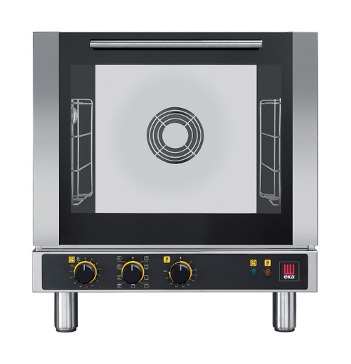 EKA EKFA 412 M Electric Half Size Countertop Convection Oven with Broiler, Manual Controls, 4 Trays - 208/240V
