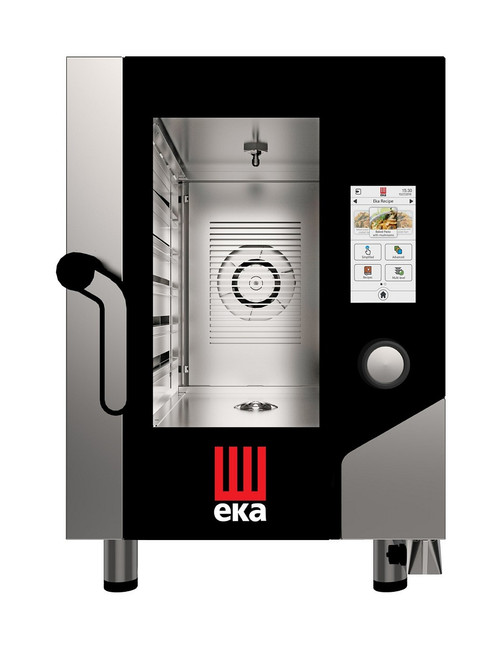 EKA MKFA 611 CTS Electric Full Size Compact Combi Oven w/ Touch Screen - 6 Trays - 208/240V