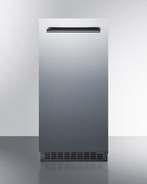 Summit BIM68OSGDR Undercounter Ice Maker, 62 lb/day, 26 lb storage, 120V