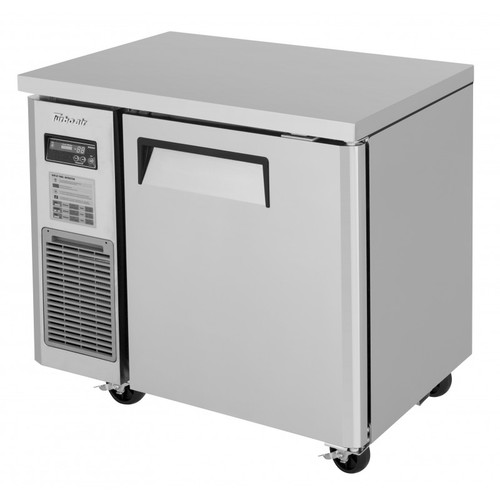 Turbo Air JUF-36S-N J Series Undercounter Freezer, Side Mount, Narrow Depth, 1 Solid Door
