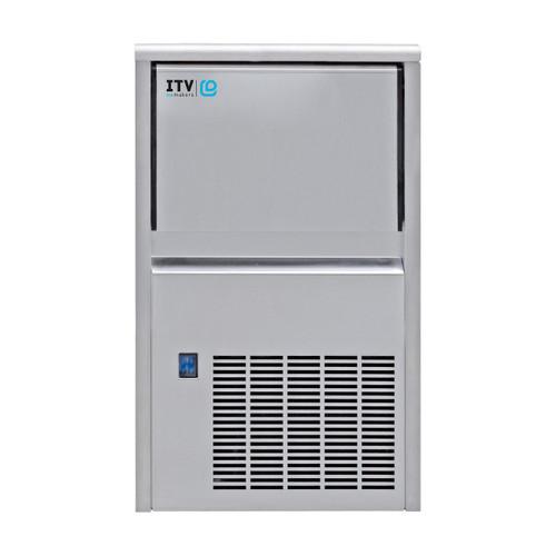 ITV ALFA NDP 55 Undercounter Ice Maker w/ 11 Lbs. Bin - 44 Lb/day, 115V