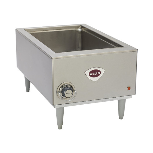 Wells SMPT-120 Heavy Duty Countertop Rectangular Warmer - Thermostatic Control - 120V, 1650W