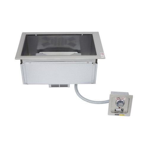 Wells MOD100TD Single Pan Drop-in Hot Food Well with Drain Manifold - Thermostatic Control - 208/240V