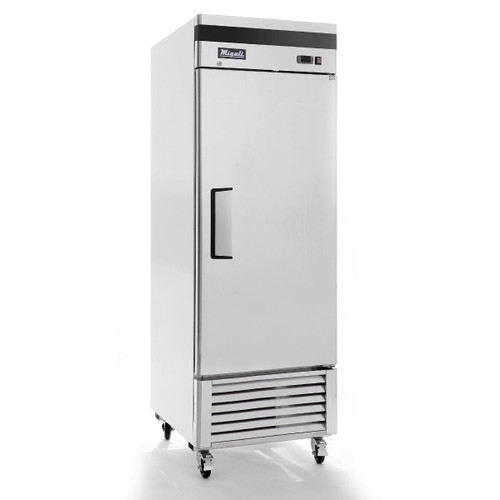 "Migali C-1RB-HC 27"" Bottom Mount Reach-In Refrigerator - 1 Door"