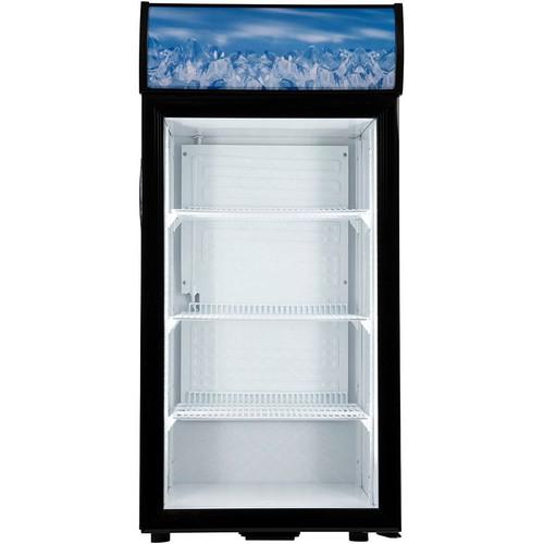 Adcraft CDRF-1D/4 Countertop Display Refrigerator, 4.2 Cu/Ft (CDRF-1D/4)
