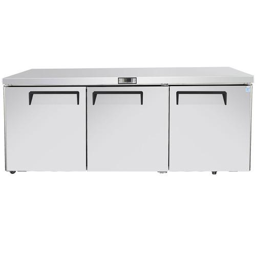 "Atosa MGF8404GR 72"" Undercounter Refrigerator (MGF8404GR)"