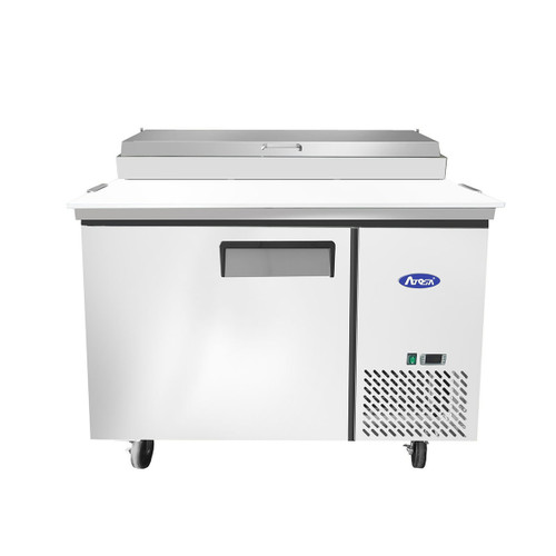"Atosa MPF8201GR 44"" Pizza Prep Table, 6 Pans"