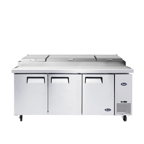"Atosa MPF8203GR 93"" Pizza Prep Table, 12 Pans"
