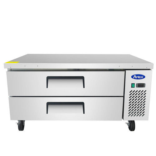 "Atosa MGF8451GR 52"" Two Drawer Refrigerated Chef Base (MGF8451GR)"