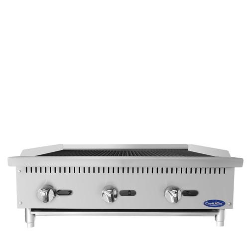 """Atosa ATRC-36 36"""" Gas Countertop Radiant Broiler - 105,000 BTU (ATRC-36)"""