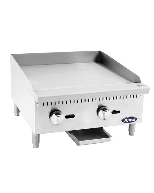 """Atosa ATMG-24 Heavy Duty 24"""" Manual Griddle"""