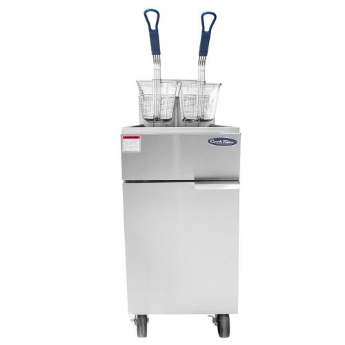 Atosa ATFS-50 Gas 50 lb. Floor Fryer (ATFS-50)