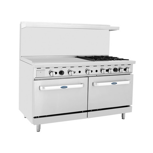"Atosa ATO-36G4B 60"" Gas Range with 36"" Griddle"