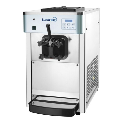Adcraft LIIC-1H Lunar Ice Countertop Ice Cream Machine - 1 Hopper