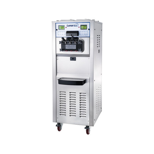 Adcraft LIIC-2H Lunar Ice Ice Cream Machine - 2 Hopper