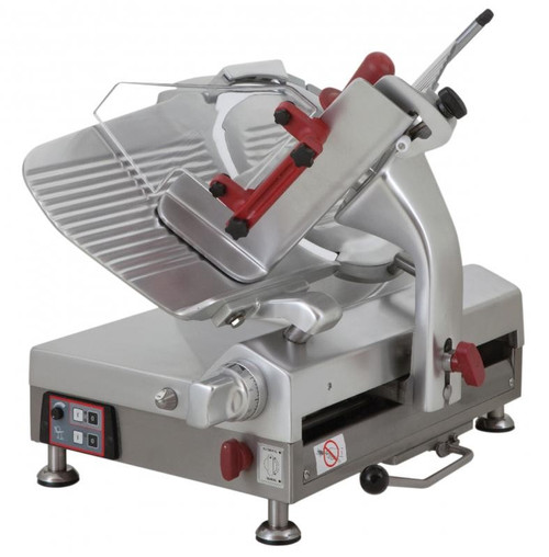 Omcan MS-IT-0330-N 13-inch Gear-Driven Automatic Slicer
