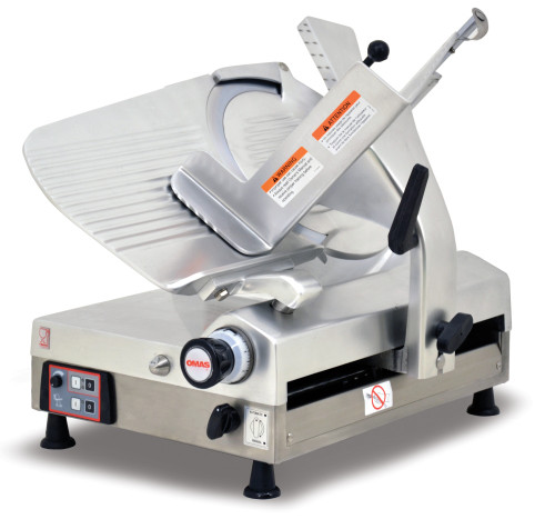 Omcan MS-IT-0330-A 13-inch Gear-Driven Automatic Slicer