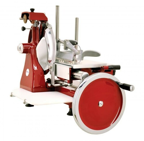 Omcan MS-IT-0350-M 14-inch Manual Volano Slicer with Standard Flywheel