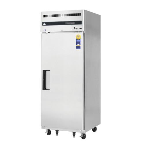 "Everest Refrigeration ESR1 29.25"" One Section Solid Door Upright Reach-In Refrigerator - 23 Cu. Ft."