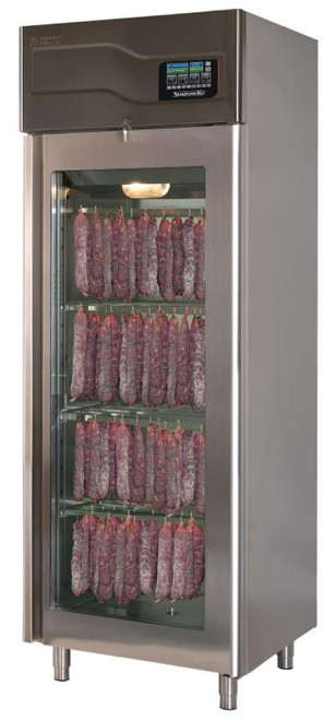 Omcan STG100TF0 100 kg Curing Cabinet