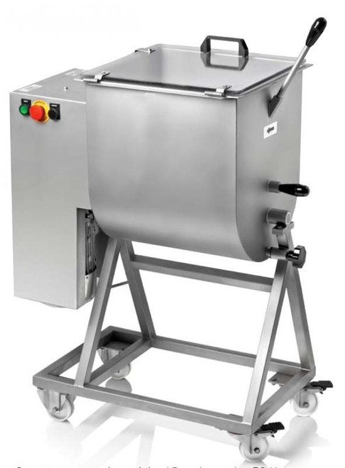 Omcan MM-IT-0050 Heavy-Duty Meat Mixer with 1.5 HP Motor and 50-kg / 110-lb Capacity
