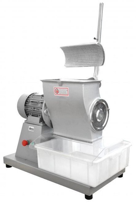 Omcan GR-IT-2983-B Cheese Grater for Hard Cheese with 4 HP Motor