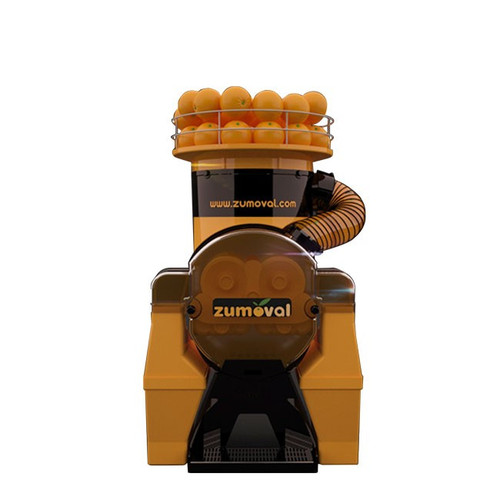 Omcan JE-ES-0045 Zumoval Automatic Feed Juice Extractor with Self Cleaning and Juice Level Detector - 45 Oranges / Minute