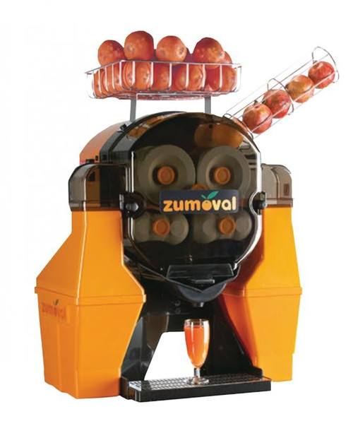 Omcan JE-ES-0028-BB Zumoval Manual Feed large Fruit Juice Machine - 28 Fruits / Minute