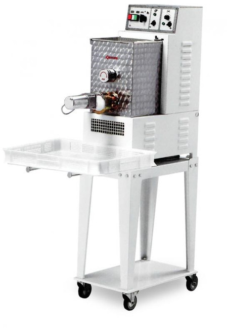 Omcan PM-IT-0008 Floor Model Heavy-Duty Pasta Machine with 8.8 lbs. Tank Capacity - 0.75 HP