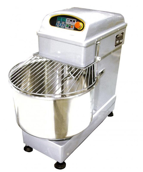 Omcan MX-CN-0053 Heavy-Duty Spiral Dough Mixer - 53 Qt. Bowl Capacity