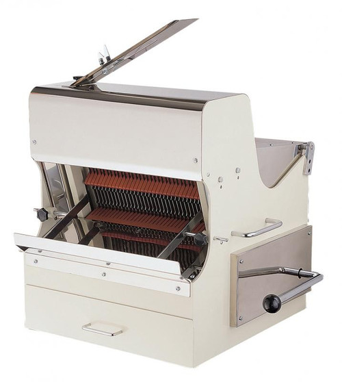 Omcan SB-TW-0016-S 30-inch Bread Slicer with 0.5 HP Motor