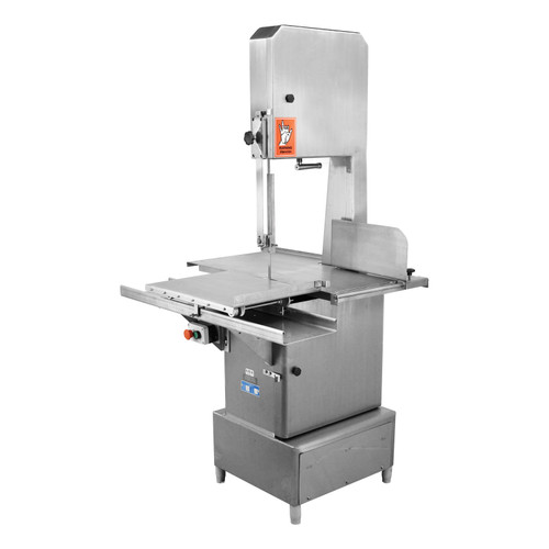 "Omcan BS-VE-3200-SS Stainless Steel Floor Band Saw with 126"" Blade Length and 3 HP Motor"