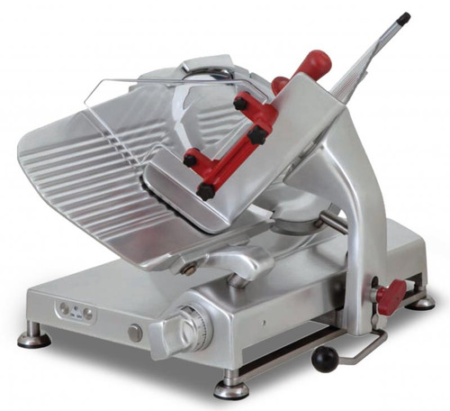 Omcan MS-IT-0330-C 13-inch Slicer, Blade Gear-Driven - 0.47 HP
