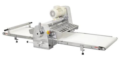 "Omcan BE-CN-2083-CSS 108"" Stainless Steel Countertop Dough Sheeter - 0.5 HP"