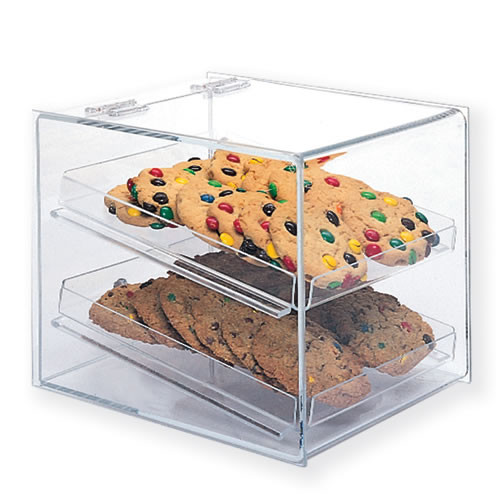 Goldleaf Plastics 2 Tier Lift-Back Bakery Case (Counter-Serve)
