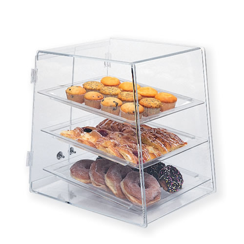 Goldleaf Plastics 3 Tier Slant Front Bakery Case (Counter-Serve)