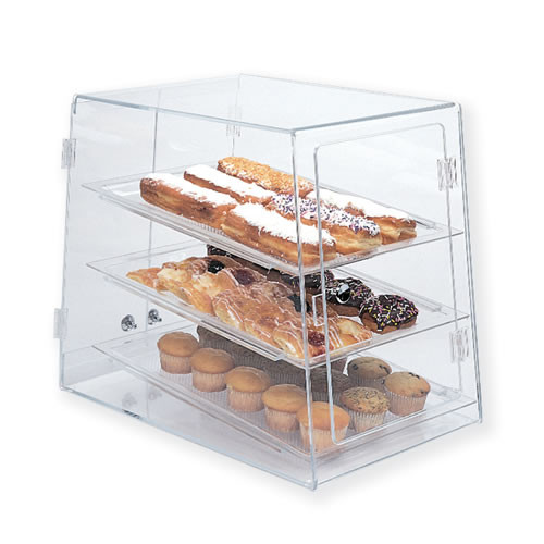 Goldleaf Plastics 3 Tier Slant Front Bakery Case (Self-Serve)