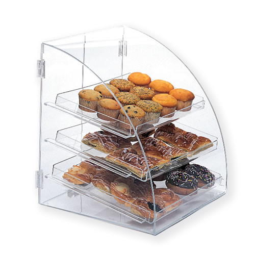 Goldleaf Plastics 3 Tier Curved-Front Bakery Case (Counter-Serve)