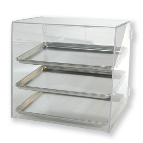 Goldleaf Plastics 3 Tier Half-Sheet Bakery Case (Counter-Serve)