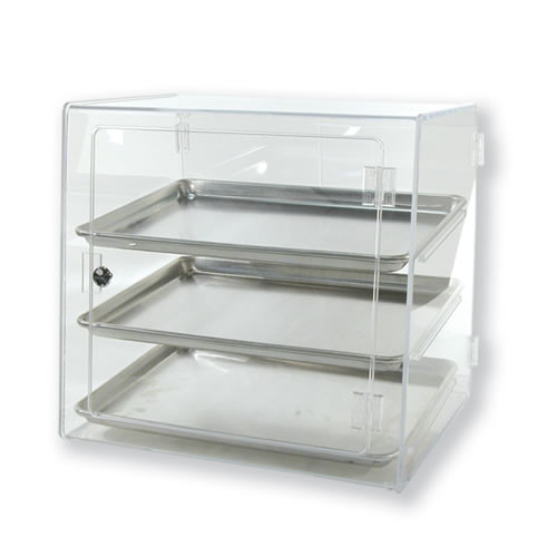 Goldleaf Plastics 3 Tier Half-Sheet Bakery Case (Self-Serve)