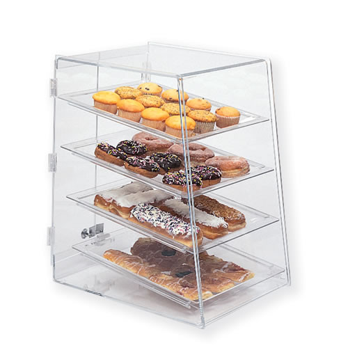 Goldleaf Plastics 4 Tier Slant-Front Bakery Case (Self-Serve)