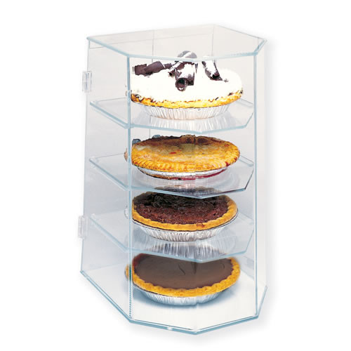 Goldleaf Plastics 4 Tier Pie Display Case